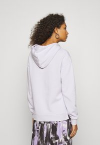 Even&Odd - OVERSIZED HOODIE WITH POCKETS AND SIDE SLITS - Hoodie - lilac - 2