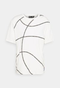 SIKSILK - SPACE JAM BASKETBALL GRAPHIC TEE - T-shirt imprimé - ecru - 4