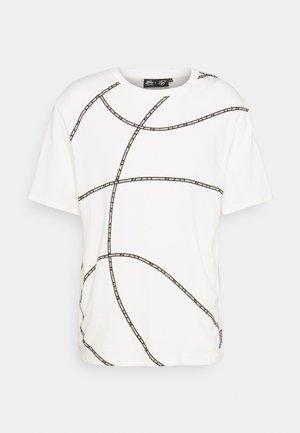 SPACE JAM BASKETBALL GRAPHIC TEE - T-shirt imprimé - ecru