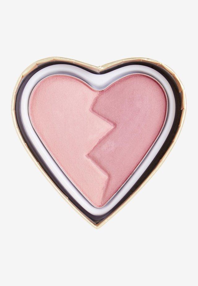 I HEART REVOLUTION HEARTBREAKERS MATTE BLUSH - Rouge - independent