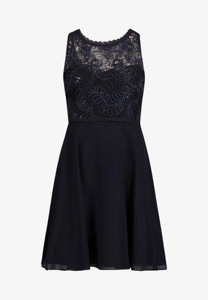 MIT SPITZE - Cocktail dress / Party dress - night sky