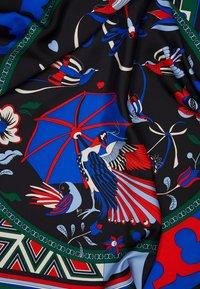 Tory Burch - PARADISE BIRD SQUARE  - Foulard - black - 2