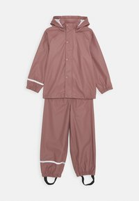 Name it - NKNDRY RAIN SET - Pantalones impermeables - wistful mauve - 0