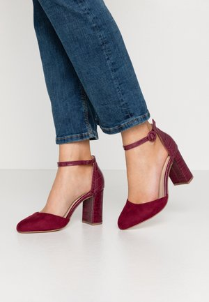 DEENA - Zapatos altos - burgundy
