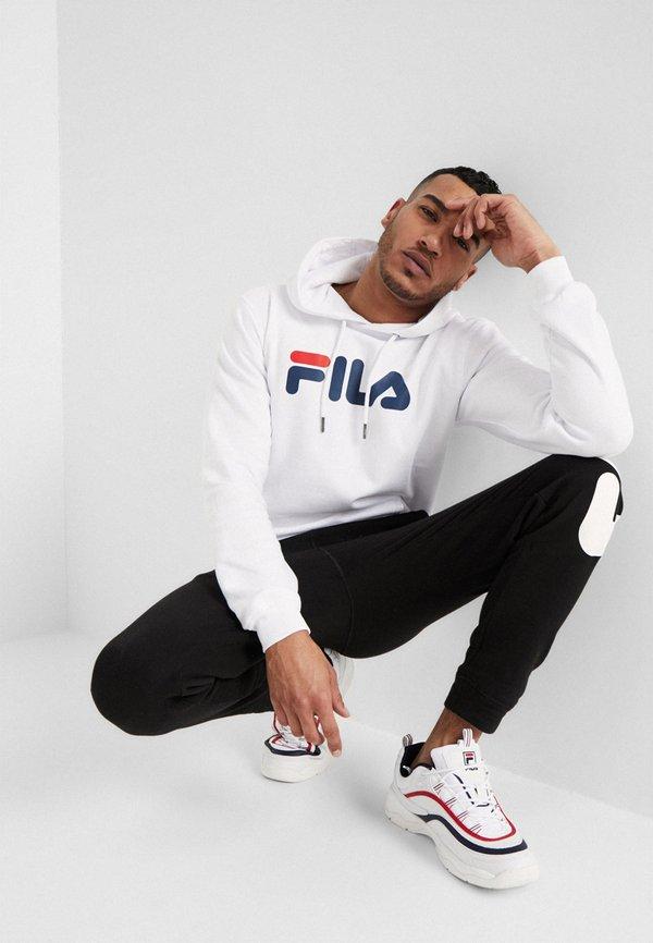 Fila PURE HOODY - Bluza z kapturem - bright white/biały Odzież Męska JRHA