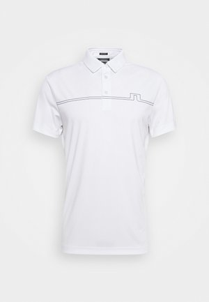 CLAY REGULAR FIT GOLF - Polo shirt - white