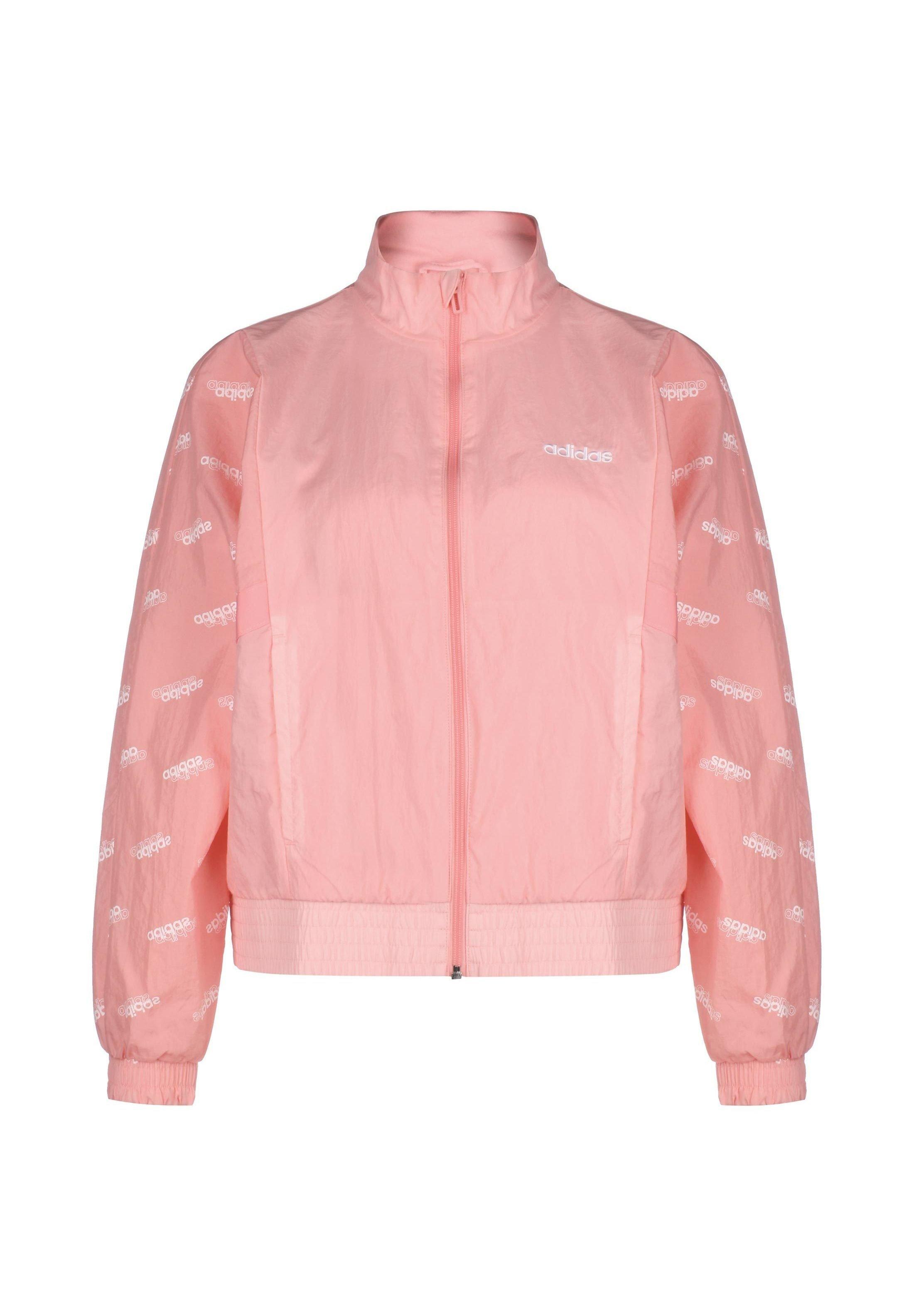 FAVORITES REGENJACKE DAMEN Trainingsjacke glow pinkwhite