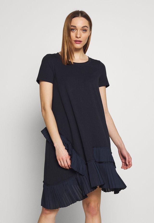 Korte jurk - midnightblue