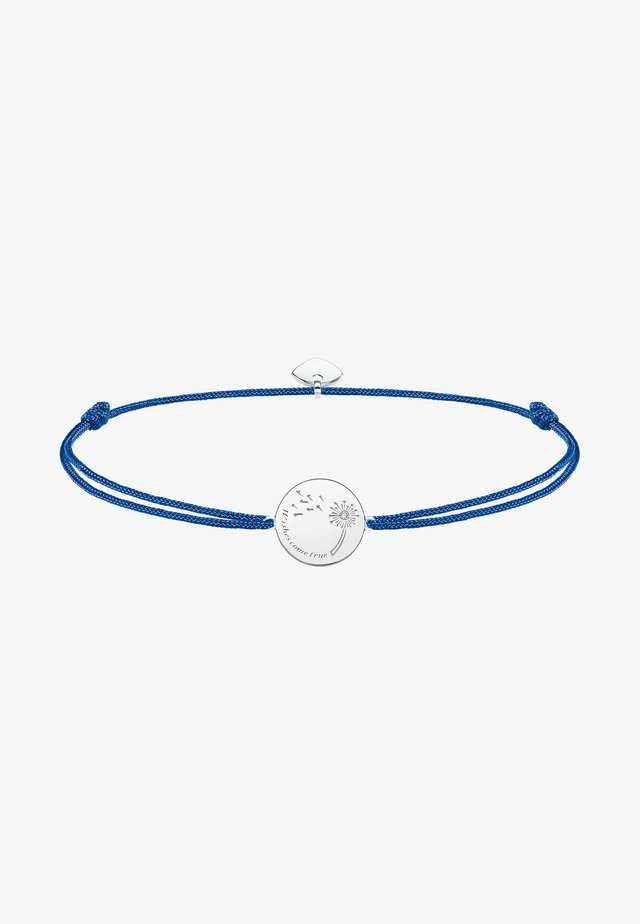 Bracelet - white/blue/silver