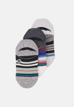 BUTTER BLEND 3 PACK - Sportovní ponožky - offwhite/blue