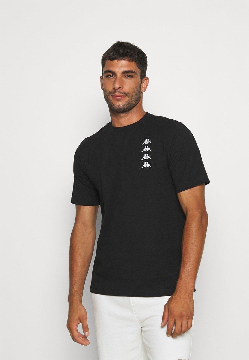 Kappa - JORN - T-shirt con stampa - caviar
