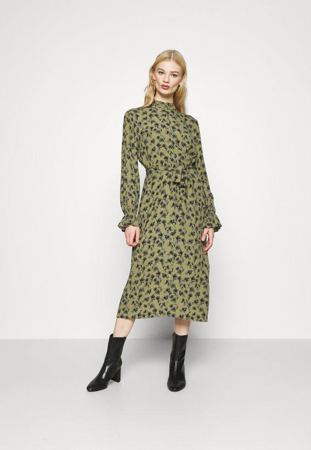 CHALOTTHEA - Day dress - dark olive