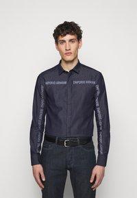 Emporio Armani - Shirt - blue - 0