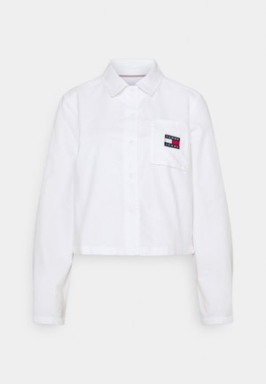 REGULAR BADGE SHIRT - Chemisier - white