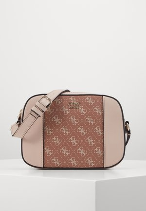 KAMRYN CROSSBODY TOP ZIP - Skulderveske - cinnamon multi