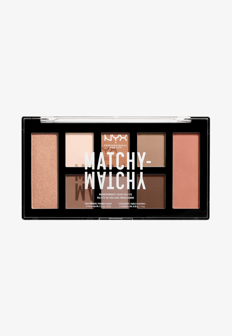 Nyx Professional Makeup - MATCHY-MATCHY MONOCHROMATIC PALETTE - Eyeshadow palette - taupe