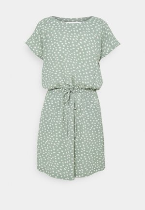 ONLMARIANA MYRINA LIFEDRESS - Kjole - chinois green/big karo dot
