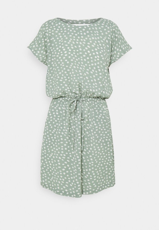 ONLMARIANA MYRINA LIFEDRESS - Vestito estivo - chinois green/big karo dot