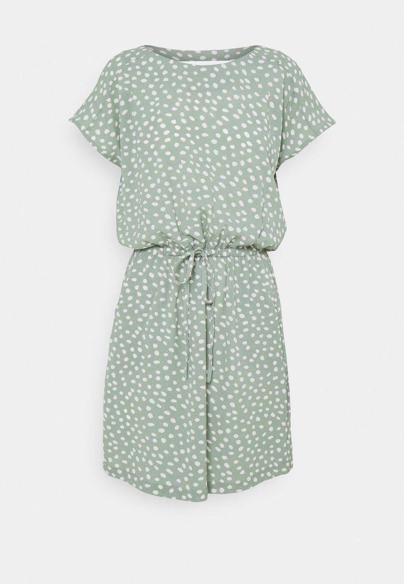 ONLY Petite - ONLMARIANA MYRINA LIFEDRESS - Day dress - chinois green/big karo dot