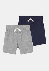 Carter's - 2 PACK - Shorts - dark blue/mottled grey - 0