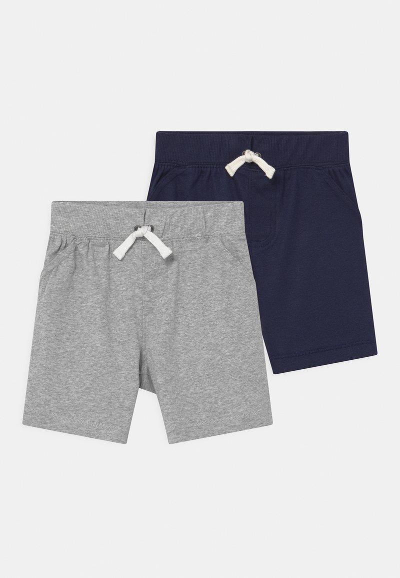 Carter's - 2 PACK - Shorts - dark blue/mottled grey