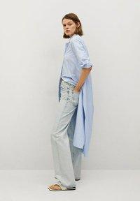 Mango - FACTORY - Shirt dress - blå - 3