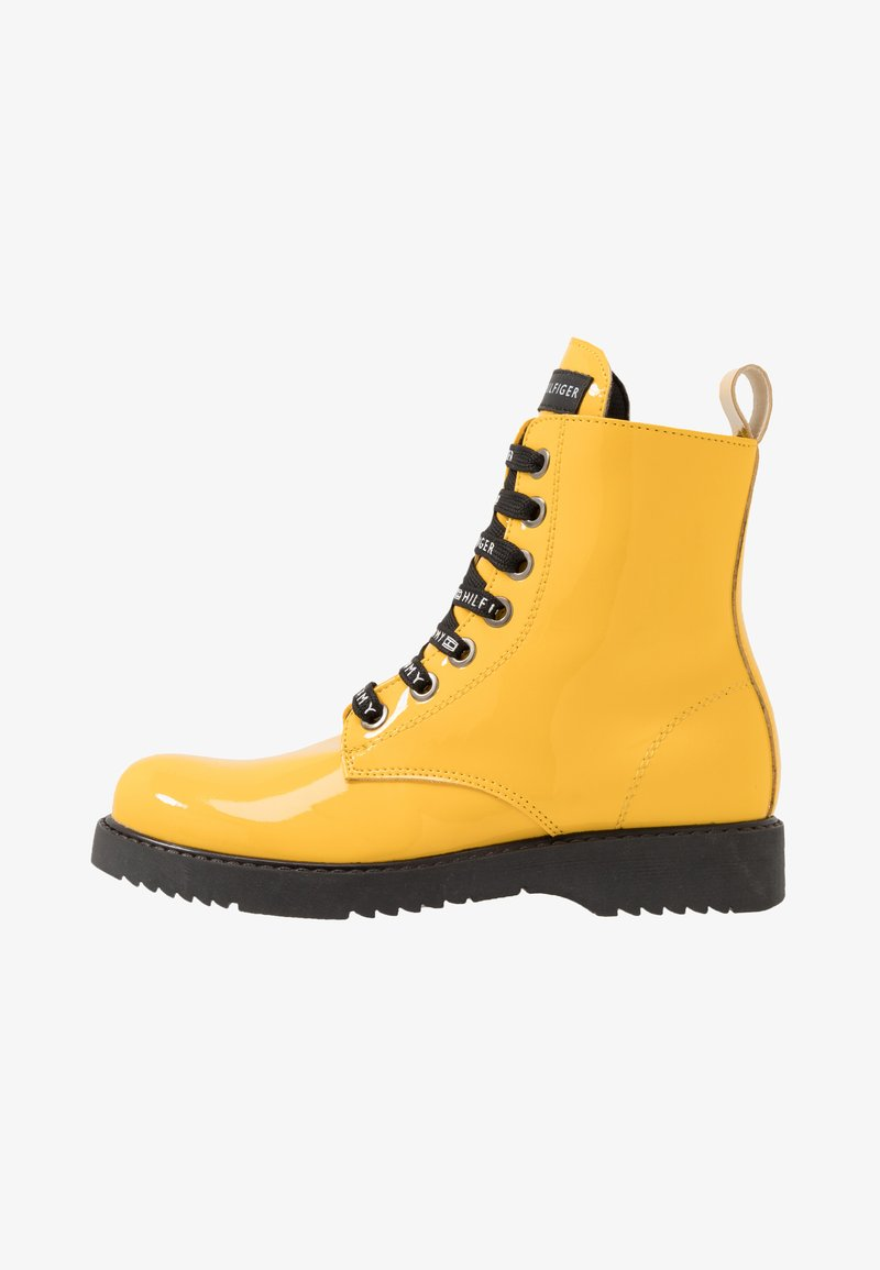 Tommy Hilfiger - Lace-up ankle boots - yellow