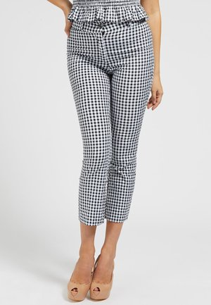 Pantalon classique - mehrfarbig, weiß