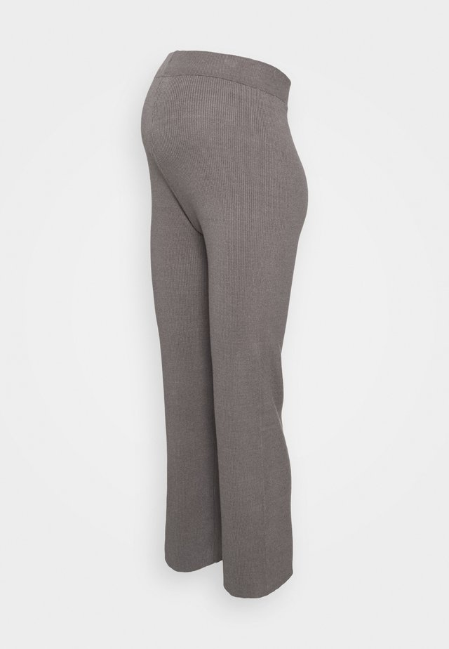 WIDE LEG TROUSER - Leggings - dark grey