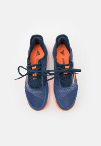 adidas Performance - ADIZERO CLUB UNISEX - Multicourt tennis shoes - crew blue/screaming orange/crew navy - 3