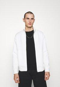 Emporio Armani - Zip-up sweatshirt - white - 0