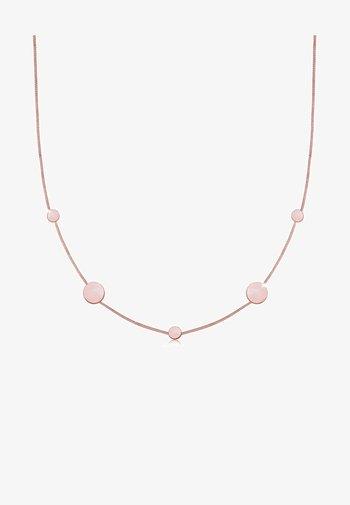 DESIGN - Necklace - rose gold-coloured