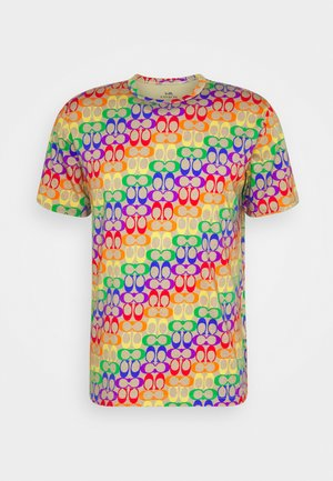 TEE RAINBOW SIGNATURE - Print T-shirt - multi-coloured