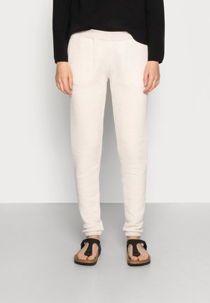 JONAS HEAVY PANT - Tracksuit bottoms - oyster melee