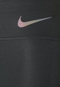 Nike Performance - FASTER 7/8 - Leggings - dark smoke grey/gunsmoke - 5