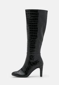 Anna Field - Vysoká obuv - black - 1