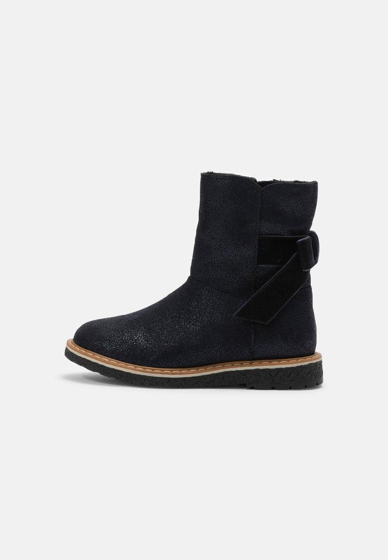 Friboo - LEATHER - Snowboots  - dark blue