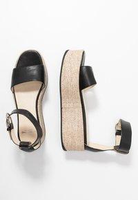 Vagabond - FELICIA - Platform sandals - black - 2