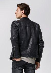 Tigha - FRANKLYN - Leather jacket - black - 2