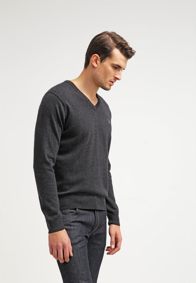 Jumper - dark charcoal melange