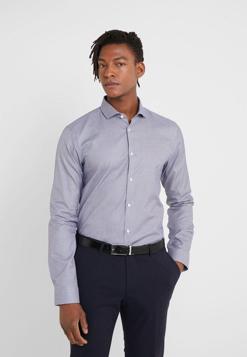 HUGO - ERRIKO EXTRA SLIM FIT - Formal shirt - navy