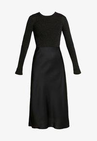 AllSaints - KOWLO SHINE DRESS - Hverdagskjoler - black - 6