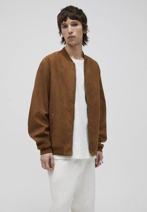 Giubbotto Bomber - brown