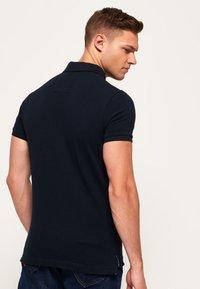 Superdry - MIT KURZEN ÄRMELN - Polo shirt - dark navy blue - 2