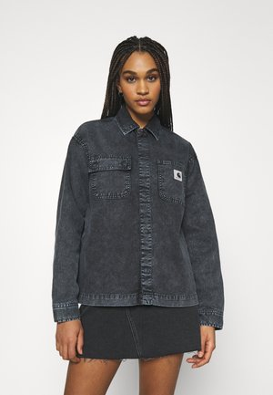 SONORA - Denim jacket - black