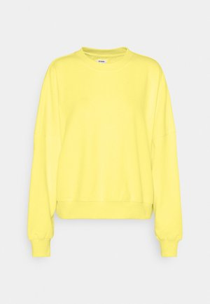 YOUR FAVOURITE CREW - Sweatshirt - lemon