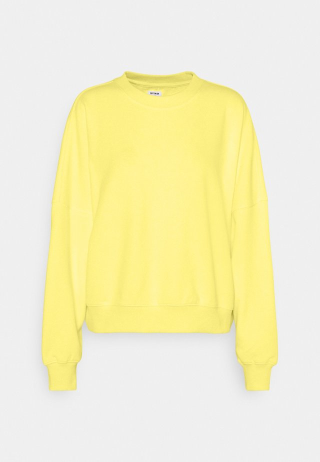 YOUR FAVOURITE CREW - Sweater - lemon