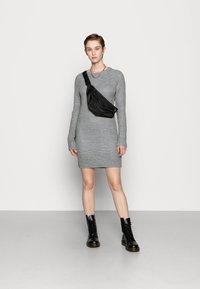 Even&Odd - Robe pull - mottled grey - 1