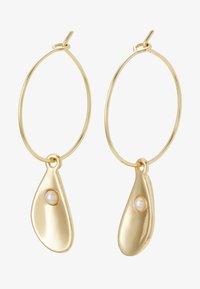 EARRINGS POSY - Ohrringe - gold-coloured