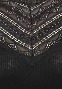 Rosemunde - Top sdlouhým rukávem - black - 2